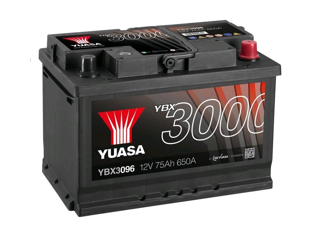 Yuasa SMF 12V Battery 75Ah 650A (Pro)