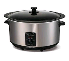 Morphy Slow Cooker 6.5L Stainless Steel
