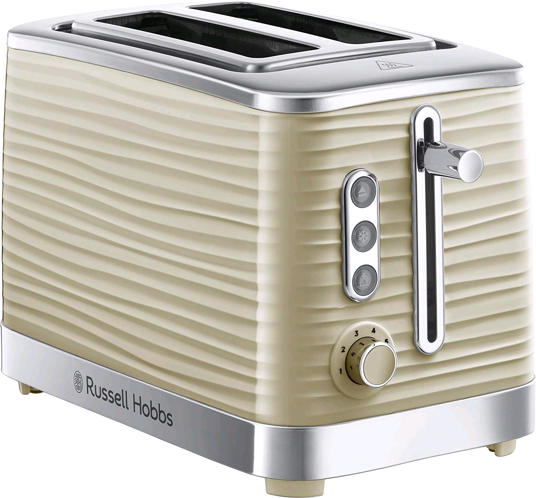 Russell Hobbs Inspire 2 Slice Toaster Cream
