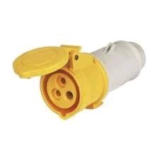 Gewiss 32a 110V 2P + E Inline Socket IP44