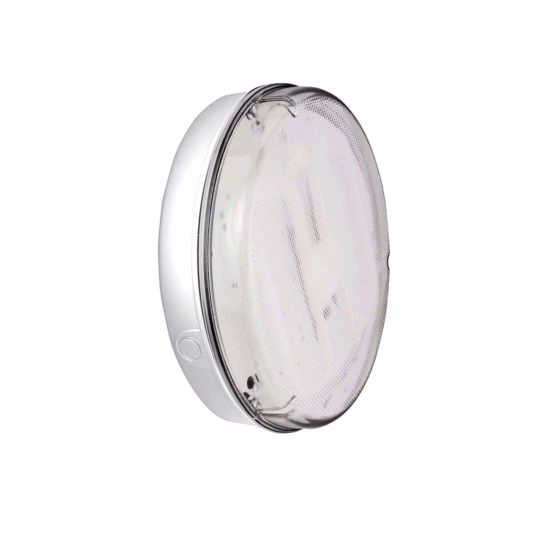 ASD Pizza 2D 28w HF Round White Prismatic Fitting