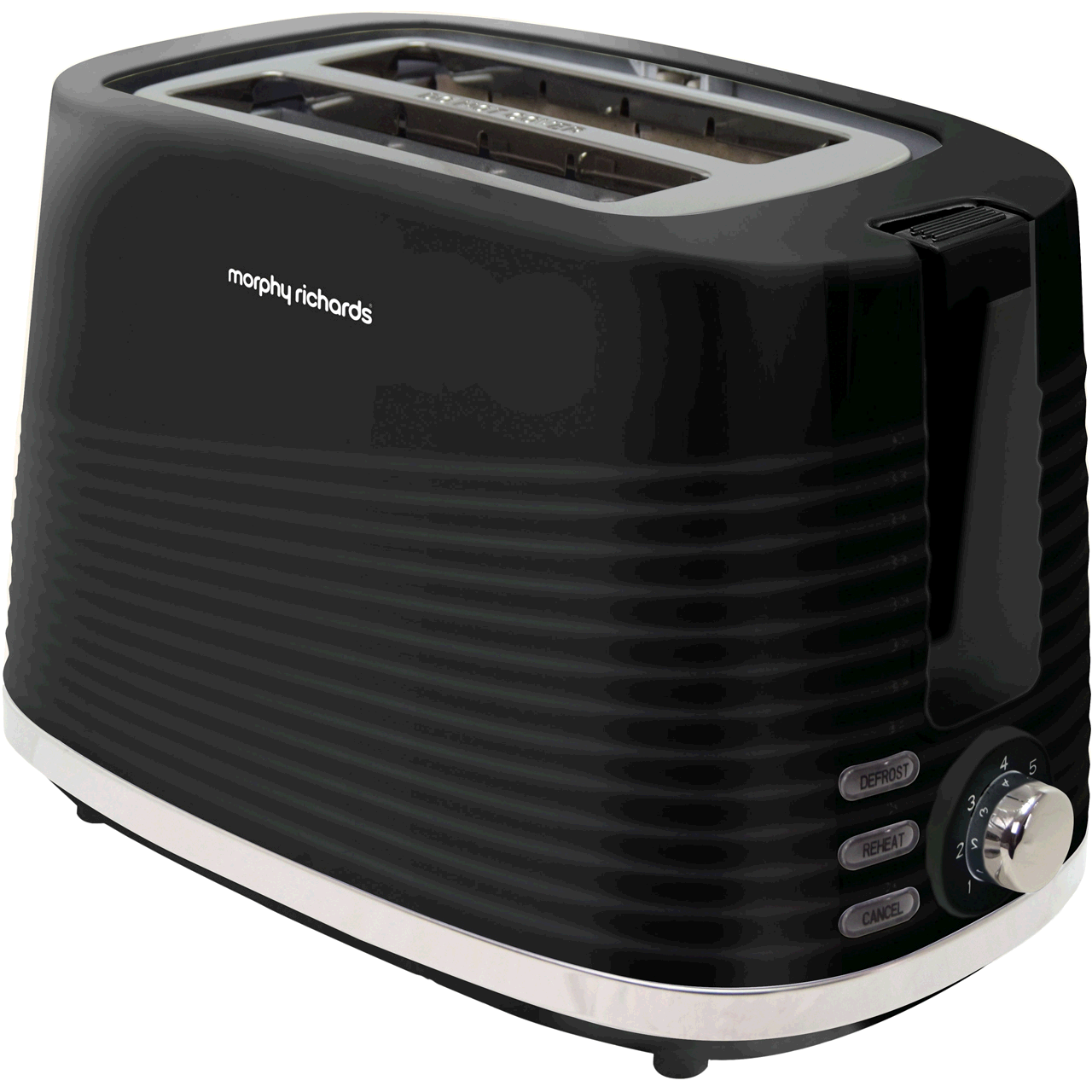 Morphy Richards 220026  2 Slice Dune Toaster Black
