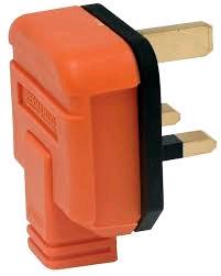 BG 13a Heavy Duty Plug Top Orange