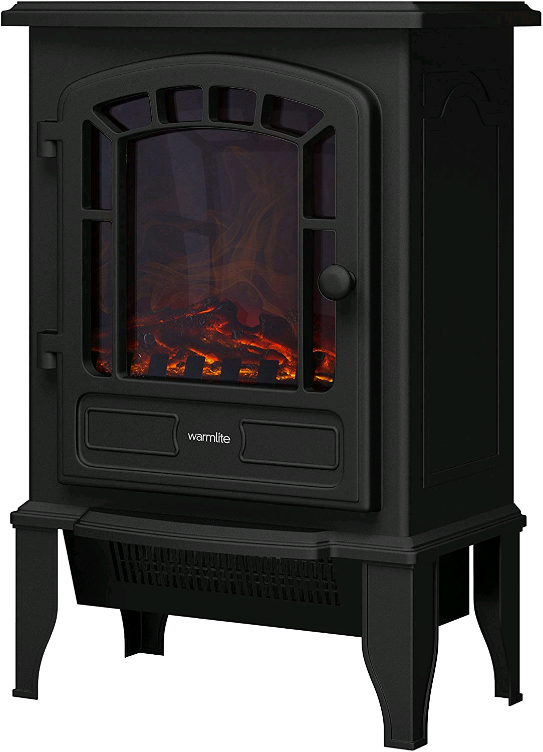 Warmlite 2Kw LED Stove Fire Black