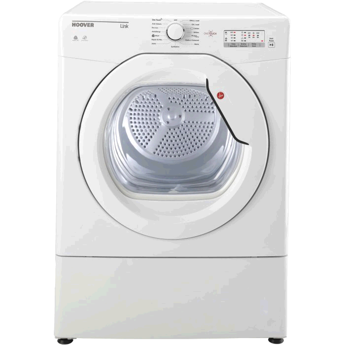 Hoover One Touch Vented Sensor Tumble Dryer 10kg