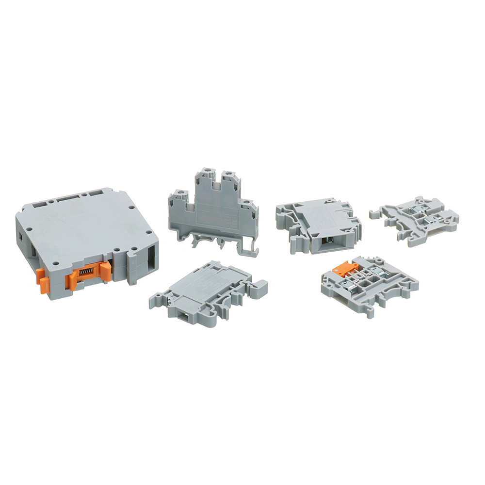 Europa 6mm Earth Din Rail Terminal