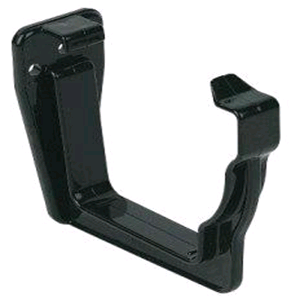 Floplast Niagara Square Gutter Facia Bracket in Black