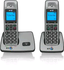 BT 2000 Twin Handset Cordless Phone (NO ANSWERING MACHINE)