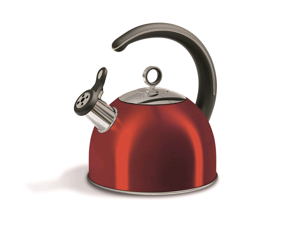 Morphy Richards Accents 2.5L Whisting Stove Kettle RED