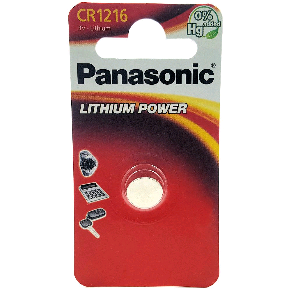 Panasonic Button Cell Battery Lithium 3V
