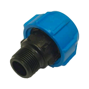 "Polypipe 25mm MDPE x 1/2"" Male Adaptor"