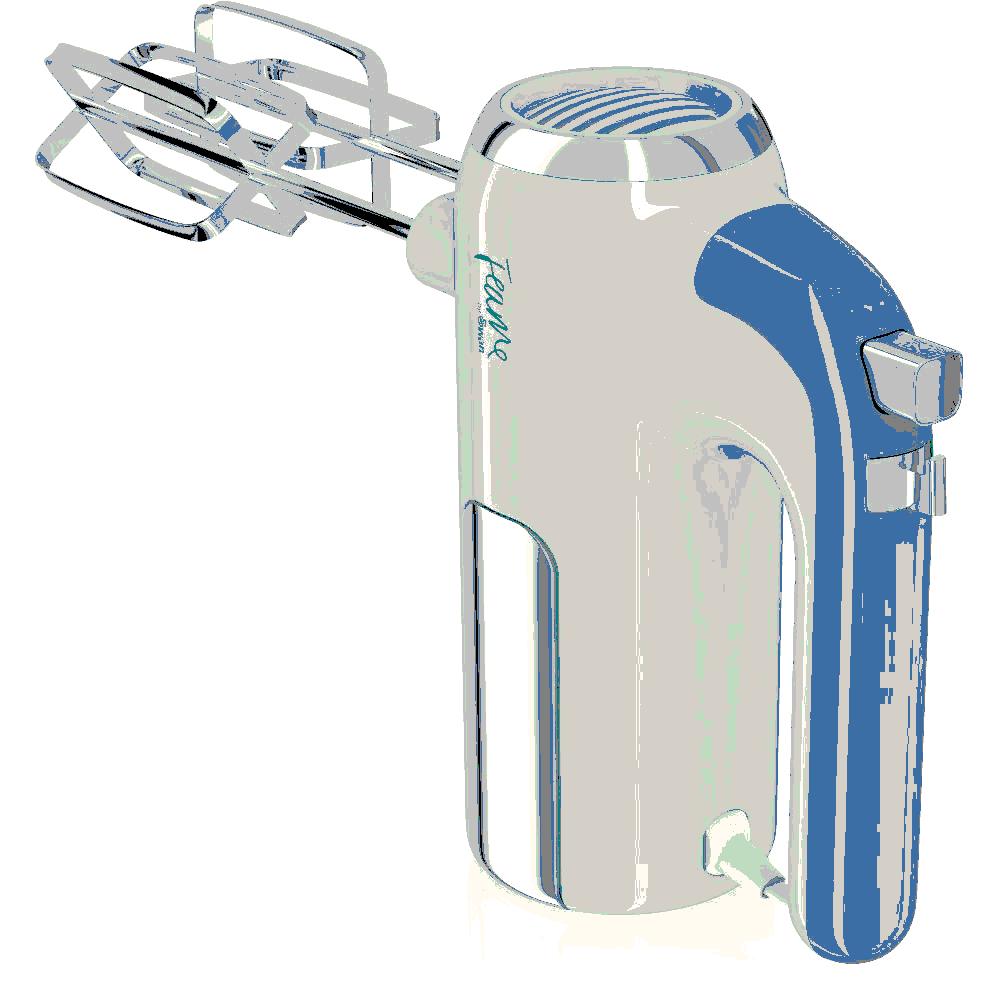 Swan Fearne (Peacock) Hand Mixer 400w c/w Turbo Function