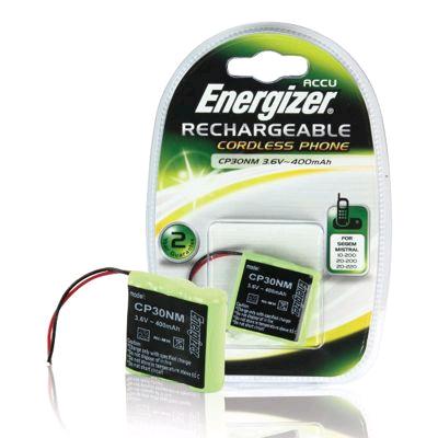 Energizer Cordless Telephone Battery Pack 3.6V 280mAH