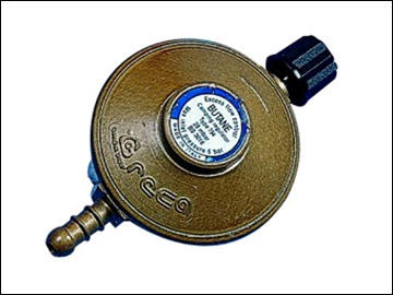 Continental Camping Gas Regulator R716CG Butane suitable for use with Cylinders