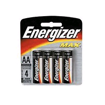 Energizer Battery 1.5V AA  4 + 1 Pk S9533
