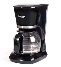 Igenix Filter Coffee Maker 1.25Litre 800w Glass Jug