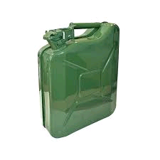 Faithfull Green Jerry Can - Metal 5 Litre