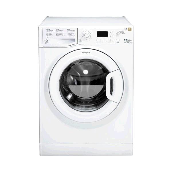 Hotpoint Washer Dryer 8Kg 1400Spin Wash 6Kg Dry WHITE