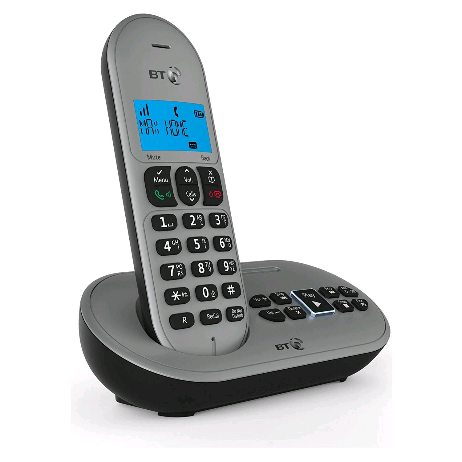 BT Twin Digital Cordless Telephone with Answering Machine