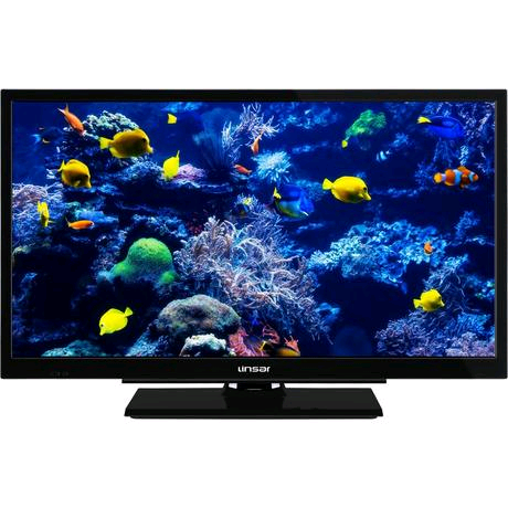 """LINSAR 24"""" HD Ready SMART TV - Black - A+ Rated"""