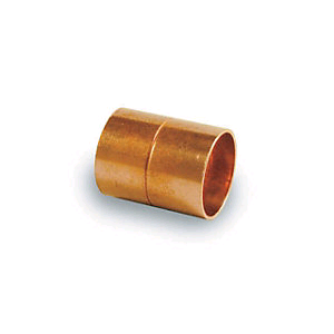 Copper Coupler 15mm Endfeed