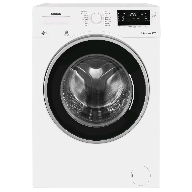 Blomberg Washing Machine 7kg 1400 Spin Speed c/w Inverter Motor Slimline