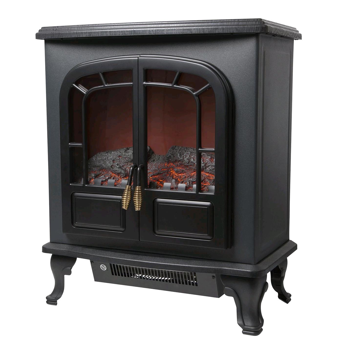 Warmlite Electric Fireplace Heater 2 door