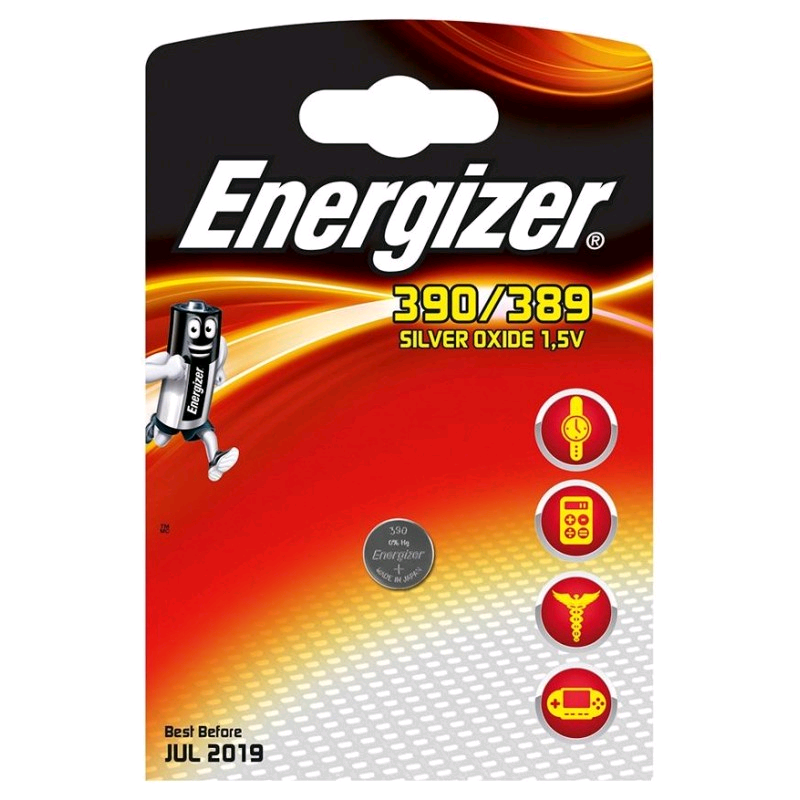 Energizer 390 Battery Micro 1.5V Button Cell
