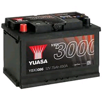 Yuasa 12V 75Ah 650 SMF Battery (Pro)