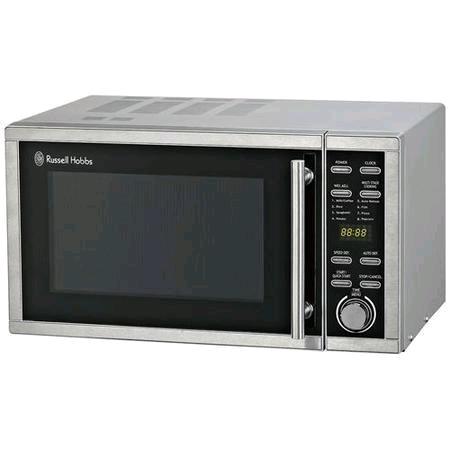 Russel Hobbs 23Ltr Silver Digital Microwave 900W