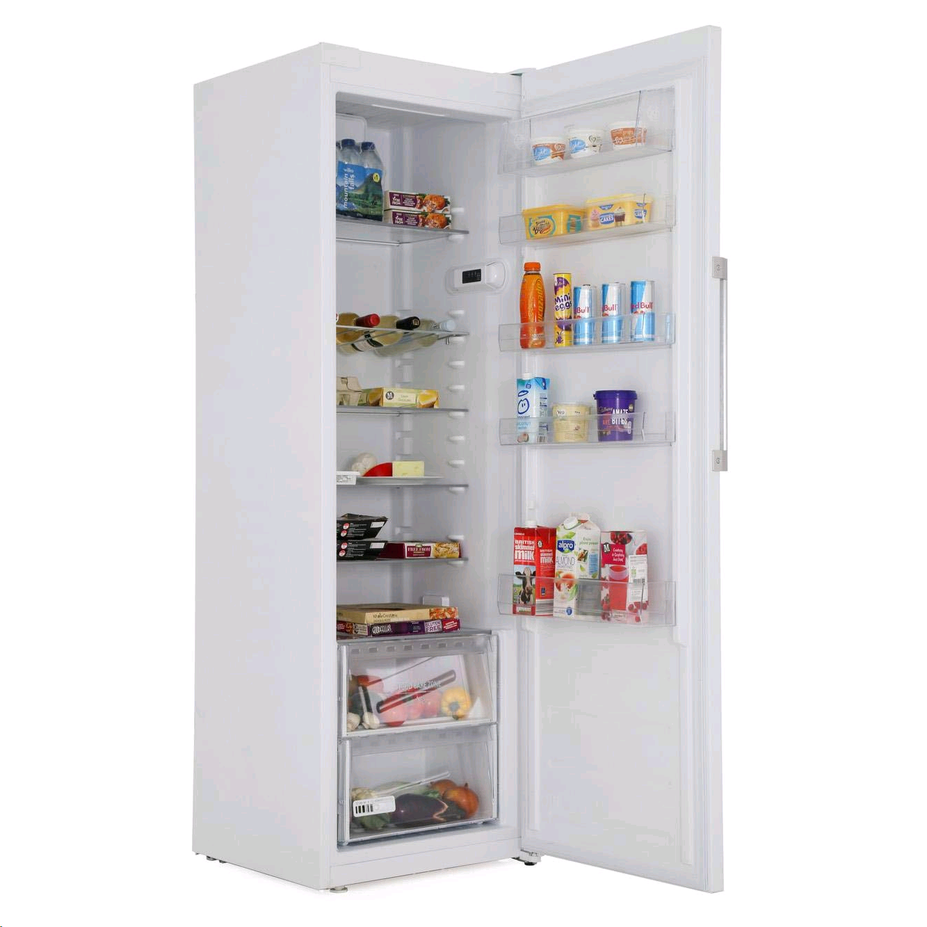 Hotpoint SH81QWRFD White  Upright Larder Fridge H187.5 W59.5 D63cm