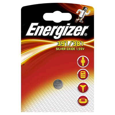 Energizer Button Cell Battery 1.5Volt Same as 392