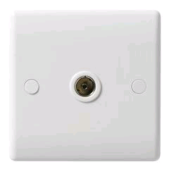 BG 1 Gang Co-axial Socket