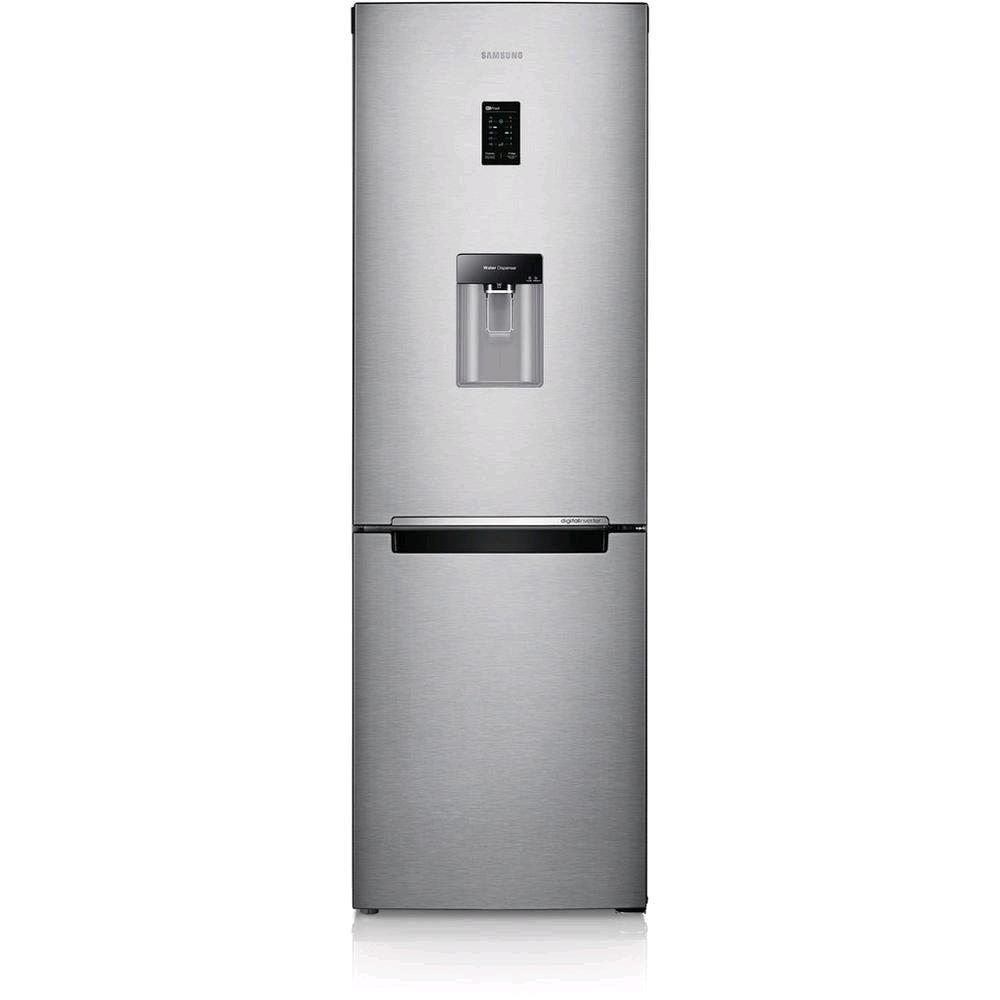 Samsung RB31FDRNDSA 60cm Total No Frost Fridge Freezer - Water Dispenser - Silver 308Litres H 185 W 59.5 D66.8