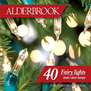 Alderbrook AK543GC 40 Shadeless Fairy Lights Set Clear