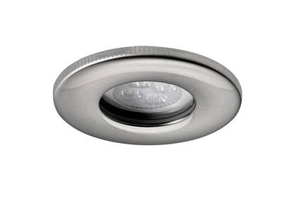 JCC Fireguard Plus IP65 LED 5w Shower Downlight Brushed Nickel