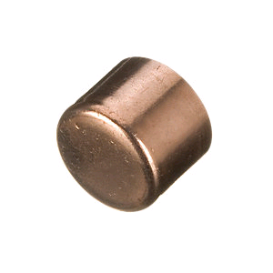 Copper End Cap (Stop End) 15mm Endfeed