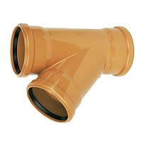 Floplast 160mm Y Triple Juctiion Socket 6D211