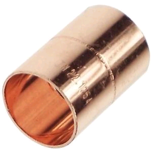 Copper Coupler 8mm Endfeed