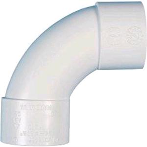 FloPlast Wastepipe Swept Bend 50mm Solvent Weld