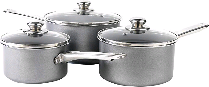 Swan CCS401310 Chester Carbon Steel Pan Set 3 Piece