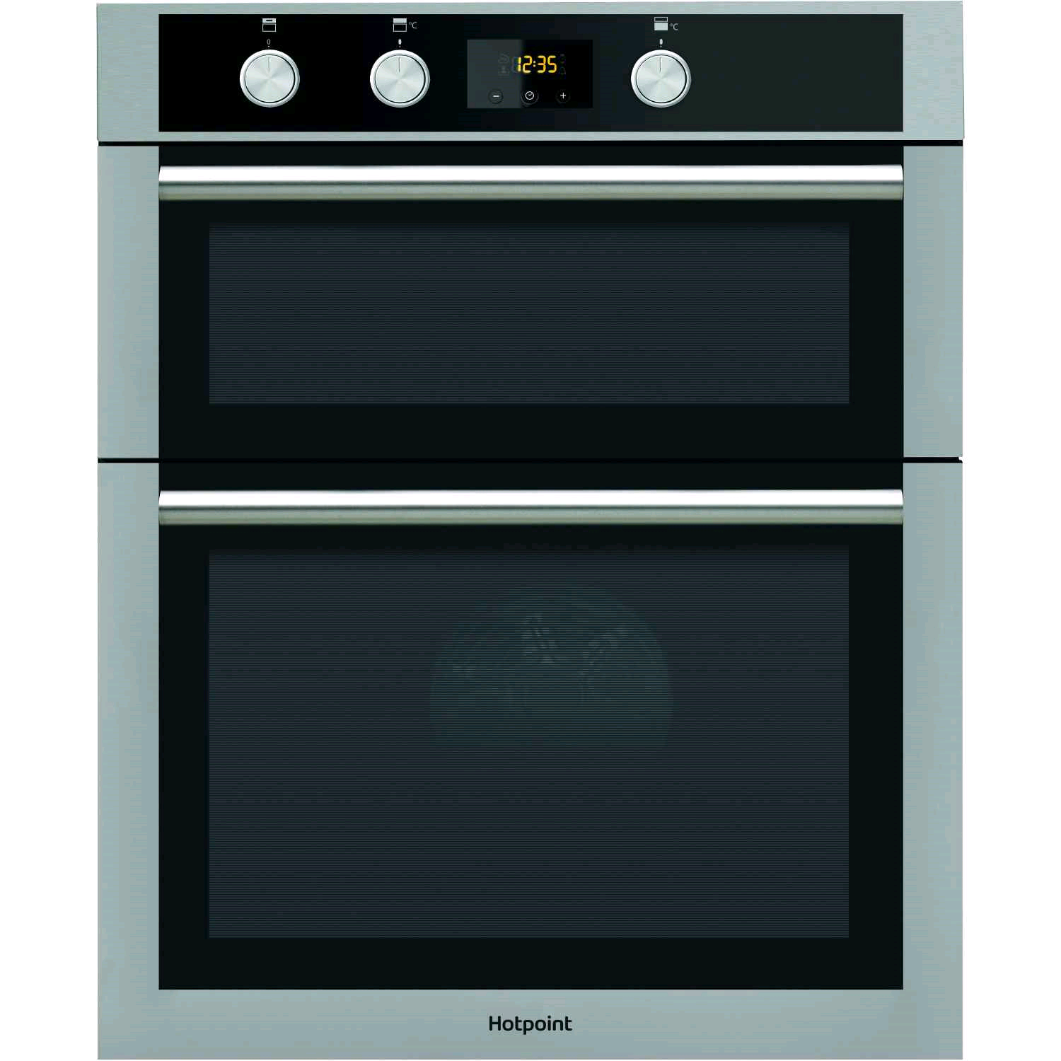 Hotpoint Built In Double Electric Oven Stainless Steel 74/42 Ltrs