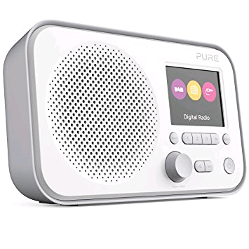 Pure Elan E3 DAB/FM Radio With LED Coloured Screen
