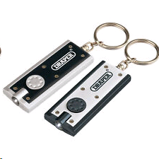 Draper LED Keyring Torch (Twin Pack)